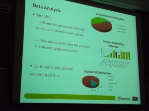 Analysis of Stuxnet's data payload