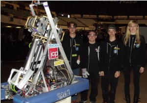 Pantherbotics - Newbury Park HS FIRST Robotics Team 2012